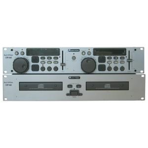 OMNITRONIS : CDP 460 – Double Lecteur CD DJ-355