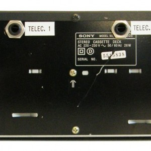 SONY : TC WE 505 - Double Lecteur enregistreur K7-553